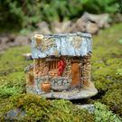 迷妳小房子裝飾創意家居盆景微景觀花園懷舊樹脂擺件·樂享生活館