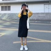 網紅減齡牛仔背帶裙2020夏新款洋裝學生寬鬆顯瘦a字裙子小個子 【ifashion·全店免運】