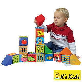 【香港 Ks Kids 奇智奇思】多功能數學遊戲積木組 Block N Learn