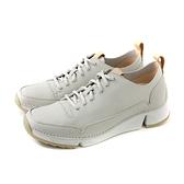 Clarks Tri Spark 休閒運動鞋 灰白色 女鞋 CLF38904SC19 no015