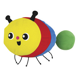 K's Kids 毛毛蟲變蝴蝶 The Crawling Caterpillar(英文布書)