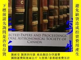 二手書博民逛書店SELECTED罕見PAPERS AND PROCEEDINGS ROYAL ASTRONOMICAL SOCIE