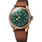 Oris 豪利時 Big Crown 指針式日期80週年青銅紀念版機械錶-40mm 0175477413167-0752058BR