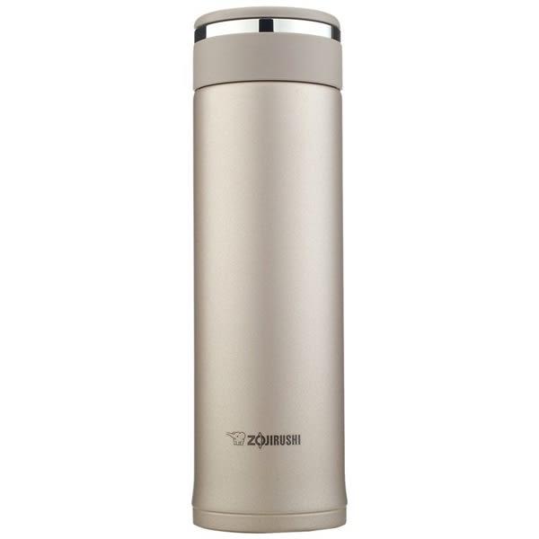 【吉嘉食品】象印 不鏽鋼真空保溫杯 容量0.48公升 SM-JD48-NL香檳金 [#1]{T4974305209061}