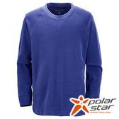 PolarStar 中性圓領刷毛保暖衣 寶藍 P15207