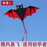 蝙蝠風箏兒童成人大型微風易飛高檔新款立體初學者創意 芊惠衣屋  YYS