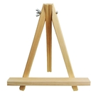 【BlueCat】微型桌面三角畫架木質手...