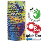 BUFF 111624 Adult High UV Pro 驅蚊魔術頭巾 Coolmax防臭抗菌圍巾 東山戶外