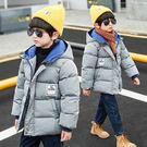 兒童外套 童裝男童棉衣2019冬裝新款兒童洋氣棉服加厚保暖棉襖男孩外套【快速出貨八折搶購】