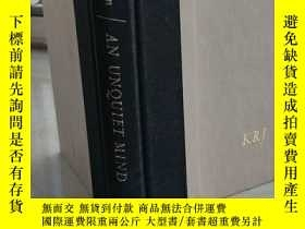二手書博民逛書店An罕見Unquiet Mind:A Memoir of Moods and Madness 精裝原版Y116