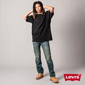 Levis 男款 501排釦直筒牛仔褲 / 作舊刷黃工藝