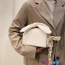 斜背包 高級感洋氣包包女新款潮時尚百搭小眾設計網紅側背斜背包小包寶貝計畫 上新