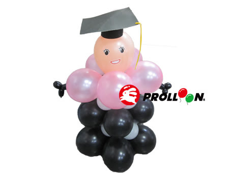【大倫氣球】畢業生-氣球DIY Graduate balloon DIY 氣球佈置,開幕、舞會、 生日、派對、party 乳膠氣球
