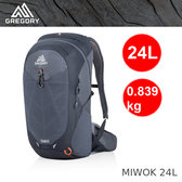 【速捷戶外】美國GREGORY 111481 MIWOK 24L 男款專業登山背包(碳黑) ,健行背包 ,登山背包
