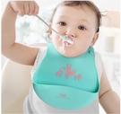 飯兜 aag寶寶吃飯圍兜 嬰兒口水圍嘴兒童小孩防水飯兜超軟硅膠防臟神器 618狂歡