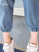 繽紛聖誕 2018秋季新款女童裝兒童時髦長褲女孩秋裝中大童秋款洋氣牛仔褲子