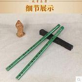 初學者綠色民族樂器一節笛子xx920 【VIKI菈菈】