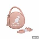 KANGOL 包 英國袋鼠 流蘇 內夾層 隨身包 粉 馬卡龍圓形側背包 - 6055301141