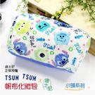 ☆小時候創意屋☆ 迪士尼 正版 小頭 史迪奇 TSUM TSUM 帆布 化妝包 筆袋 收納包 鉛筆盒 手機包