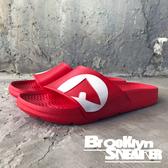 AIR WALK 紅白 橡膠  男女 情侶鞋  (布魯克林) 2018/7月 A511220-240