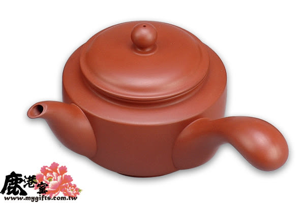 鹿港窯~ 紫砂壺【大握把】(普通包裝)◆免運費送到家