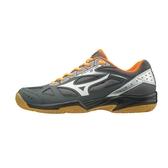 美津濃 MIZUNO 排球鞋(男女) Cyclone Speed 2 (黑橘)  V1GA198004【 胖媛的店 】