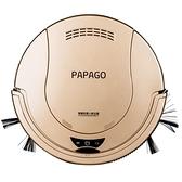 掃地機器人PapaGo掃地機器人超薄家用智慧吸塵器全自動擦地拖地機清潔一體機 朵拉朵