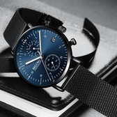 男士手錶 蟲洞概念手表男士防水潮流韓版石英表學生夜光全自動機械男表