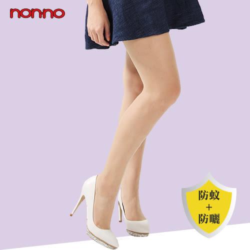 nonno儂儂 極輕薄防蚊防曬褲襪 1入 膚色/黑色【BG Shop】~ 2色供選 ~