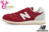 New Balance 520運動鞋 大童/女段 麂皮 復古休閒鞋N8425#紅◆OSOME奧森童鞋/小朋友