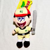 阿松 打棒球 玩偶 吊飾 日本帶回正版商品