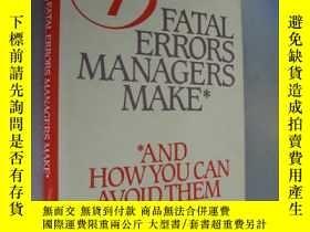 二手書博民逛書店13罕見Fatal Errors Managers Make a
