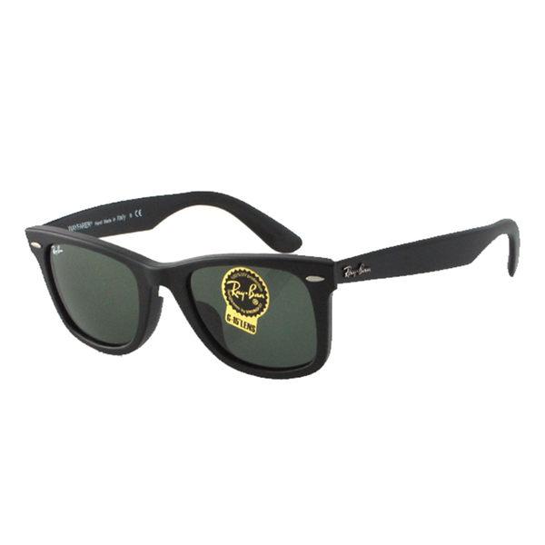 原廠公司貨-【Ray-Ban 雷朋太陽眼鏡】2140F-901S-54-經典亞洲加高鼻墊款墨鏡(霧黑#大版)