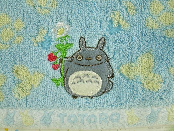 【震撼精品百貨】となりのトトロTotoro_造型方巾-龍貓藍