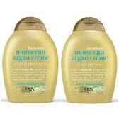 美國Ogx摩洛哥堅果油有機洗髮乳*2+潤髮乳*1