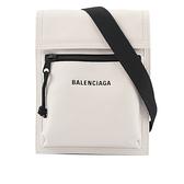 【BALENCIAGA】Explorer小型斜背包(白色) 655982 13MNX 9060