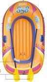 橡皮艇橡皮船充氣船下網漁船釣魚船單人雙人皮劃艇塑料船加厚igo 法布蕾輕時尚