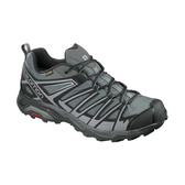 [Salomon] (男) X ULTRA 3 Prime GTX 低筒登山鞋 磁灰/黑/靜灰 (L402461)