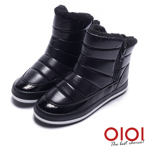 雪靴 冬季暖心2way厚底防潑水雪靴(黑) * 0101shoes 【18-MJ-0159bk】【現貨】