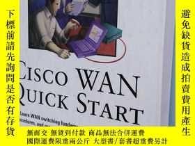 二手書博民逛書店CISCO罕見WAN QUICK STARTY201150 Ro