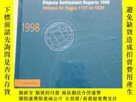 二手書博民逛書店DISPUTE罕見SETTLEMENT REPORTS 1998