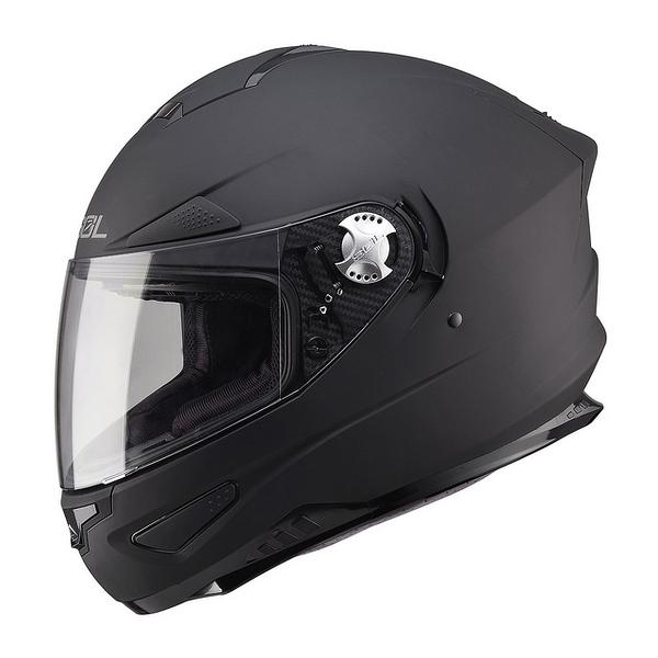 【SOL SF-5 SF5 素色 消光黑 全罩安全帽 】內襯全可拆,內藏鏡片/免運+好禮