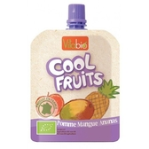 Vitabio 有機優鮮果泥 90g (蘋果、芒果、鳳梨)