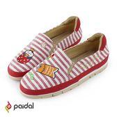 Paidal夏夜祭典女兒節鯉魚旗輕運動休閒鞋