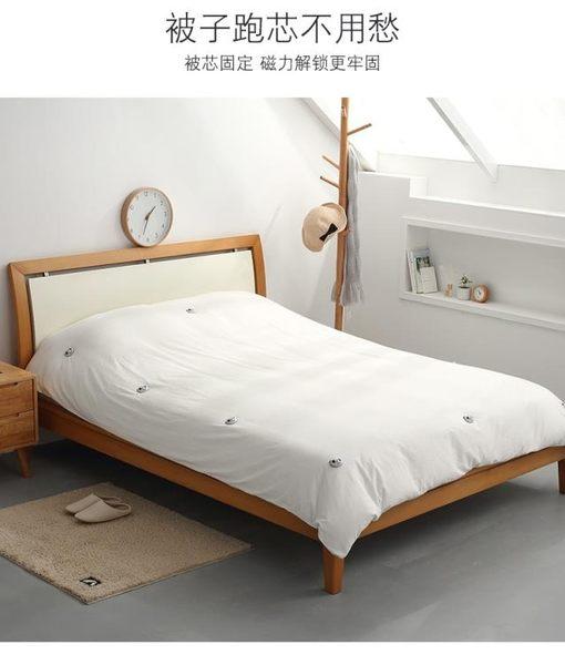 床?防滑固定器 被子固定器防跑安全無針訂床單扣小家用10個裝被套角被罩防滑神器  綠光森林