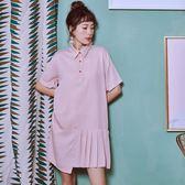 小洋裝連身裙女夏學生中長款裙子