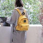 後背包 素色 文藝 簡約 側邊袋 帆布包 學院風 休閒-手提包/後背包【AL299】 BOBI  09/20