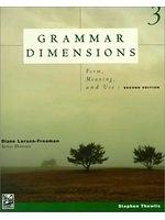 二手書博民逛書店 《Grammar Dimensions 3》 R2Y ISBN:0838465889│StephenThewlis