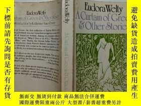二手書博民逛書店【英文原版】A罕見Curtain of Green: and O