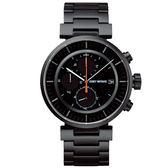 【僾瑪精品】ISSEY MIYAKE 三宅一生W系列計時手錶-黑/43mm/VK67-0010SD(SILAY002Y)